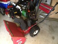 "24"" 2 Stage Snowblower"