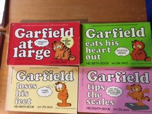 Garfield Books for sale - 4 books for $5.