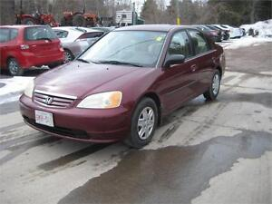 2003 Honda Civic Sdn DX-G ONLY 118000KMS!!