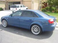 Asa deep dish alloy wheels, 18inch, 5x112, Vw Skoda Audi Mercedes