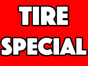 TIRE CLEARANCE SPECIAL - FREE INSTALL & BALANCE - 647-499-5353