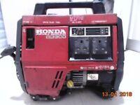 Honda ex800 suitcase generator excellent working condition