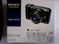 Sony Cyber-Shot DSC-H90 Digital Camera - Silver - NEW