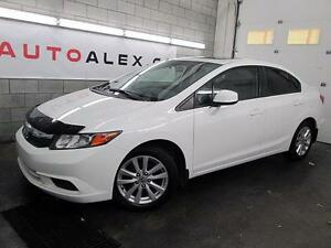 2012 Honda Civic EX 24$/SEM TOIT OUVRANT MAGS A/C CRUISE