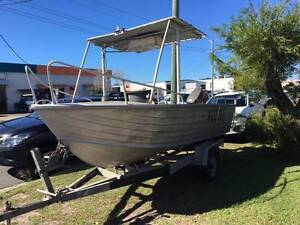 Quintrex King Tinny with 50HP Tohatsu 2 stroke trailer CHEAP Tweed Heads South Tweed Heads Area Preview
