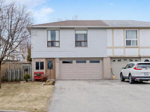 Well Maintained 3 Bedroom Semi