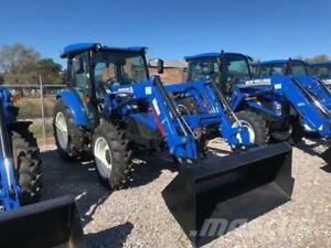 Location tracteur New Holland T4 75HP loader, bucket, fourches