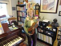 VIOLIN MUSIC LESSONS SUMMER SESSION 2017