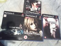 Silent hill 1-4 £40 ono