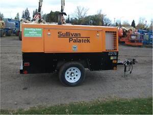 Sullivan Palatek DF375PDCA Air Compressor