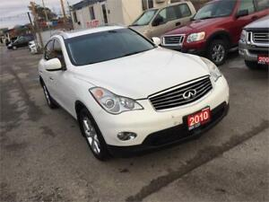 2010 Infiniti EX35 Fully Loaded 4WD 4 Dr Auto Leather Certified
