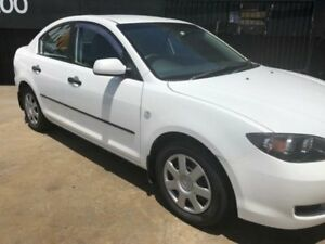 2006 Mazda 3 BK Neo White 5 Speed Manual Sedan