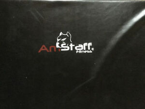 Am Staff Trifold Black Mats Brand New Condition