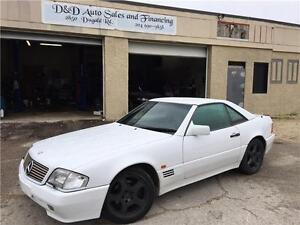 1993 Mercedes Benz 500SL-LEATHER-LOADED-ALLOYS-CLEAN TITLE