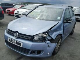volkswagen golf mk6 1.6 tdi breaking for parts