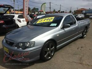 2004 Ford Falcon BA XR6 Grey 4 Speed Auto Seq Sportshift Utility Lansvale Liverpool Area Preview