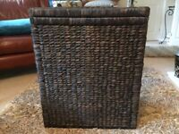 John Lewis Hyacinth Double Laundry Basket. Brand New - Never Used. Label Attached.