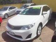 2014 Toyota Camry White 5 Speed Automatic Sedan North Hobart Hobart City Preview