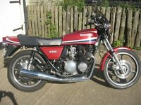 KAWASAKI Z500 CLASSIC MOTORCYCLE-1979 MODEL-12 MONTHS MOT-SUPERB CONDITION, GREAT RUNNER
