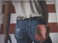 Vinyl LP Bruce Springsteen Born in USA CBS 86304 Stereo 1984
