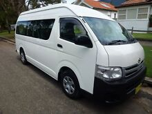 2010 Toyota Hiace KDH223R MY11 Up Commuter White 4 Speed Automatic Mini Bus Homebush West Strathfield Area Preview