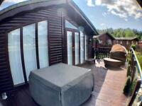 South Facing Lodge For Sale Lake District Near Windermere Carnforth Log Cabin