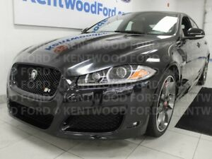 2012 Jaguar XF XFR RWD with NAV, power tan leather seats, sunroo