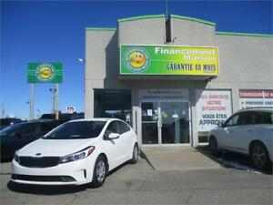 2018Kia Forte LX comme neuf,com.volant,MAGS,5ans assis. routiere
