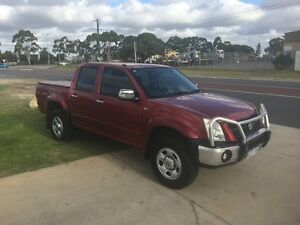 2007 Holden Rodeo RA MY08 LT Crew Cab Red Automatic Crewcab Wangara Wanneroo Area Preview