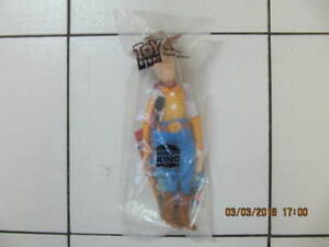 ClassicRare ToyStory Woody Doll Burger King Issue NIB Circ1996