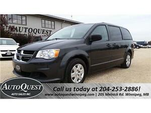 2012 Dodge Grand Caravan SXT with Stow N' Go!!