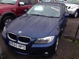 BMW 3 SERIES 320d EfficientDynamics 4dr (blue) 2010