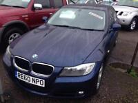 BMW 3 SERIES 320d EfficientDynamics 4dr (blue) 2010