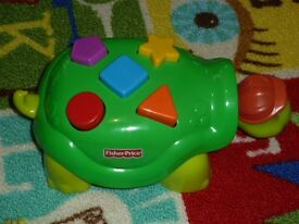 Fisher Price Tappy The Turtle Toy