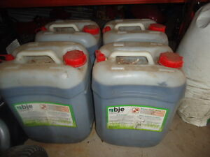Concentrated lawn fertilizer - $50 each jug. BJE 18-0-5