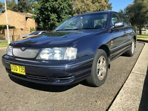 2001 Toyota Avalon MCX10R Sorrento Conquest Sedan 4dr Auto 4sp 3.0i Blue automattic Sedan Croydon Burwood Area Preview
