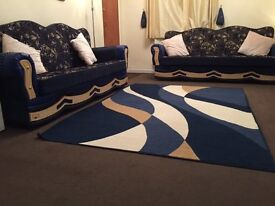 2 trendy floral design Sofa Bed/Settees' - £275.ono for both