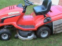 HONDA RIDE ON LAWNMOWER