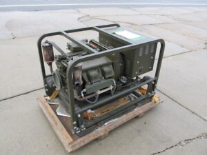 3KW, 28 V.DC. Generator set w/ 4A032 Miltary Standard 4 cyl air cooled Engine