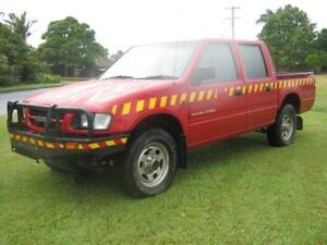 1999 Holden Rodeo TF R9 4x4 Red Crewcab West Ballina Ballina Area Preview