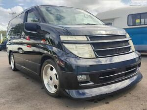 2004 Nissan Elgrand E51 Highway Star Black 5 Speed Automatic Wagon Underwood Logan Area Preview