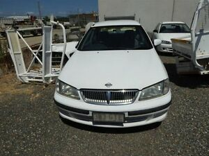 2001 Nissan Pulsar N16 LX White 4 Speed Automatic Sedan Strathpine Pine Rivers Area Preview