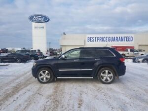 2012 Jeep Grand Cherokee OVERLAND, HEATED AND COOLED FRONT SEATS