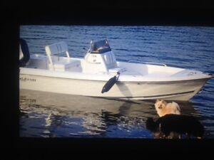 Beautiful center console boat...End of season price