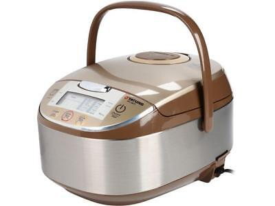 Tatung Micom Floccus Logic Multi-Cooker and Rice Cooker, Champagne, 16 Cups Cooked