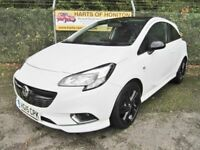 Vauxhall Corsa 1.4 Limited Edition 3DR (white) 2015
