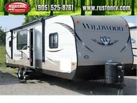 2013 WILDWOOD 27RKSS Travel Trailer