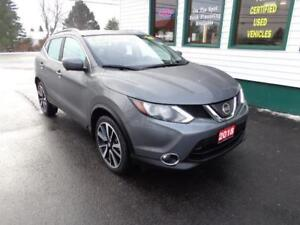 2018 Nissan Qashqai SL AWD for only $225 bi-weekly all in!