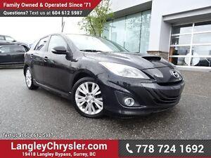 2011 Mazda MazdaSpeed3 ACCIDENT FREE w/ 6-SPEED MANUAL, TURBO...