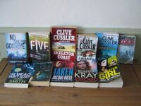 Roberta Krey, Anna Smith, Clive Cussler,Tess Gerritson and others